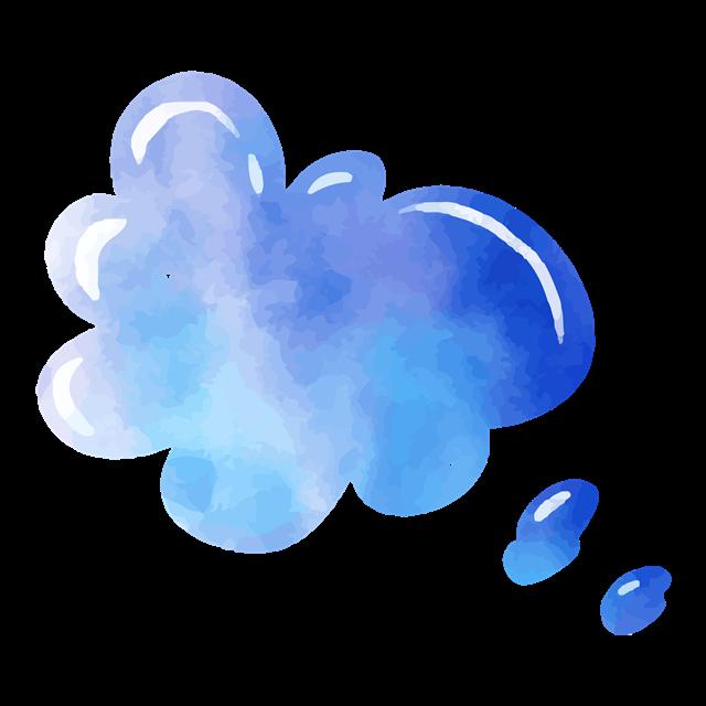 可爱气泡框