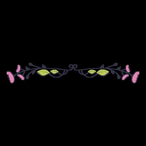 婚礼彩色花纹边框