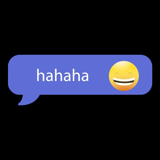 哈哈哈聊天对话框
