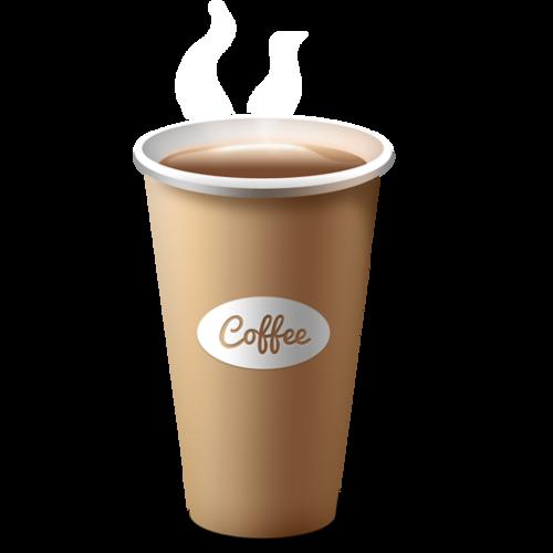 一次性咖啡杯纸杯VI样机