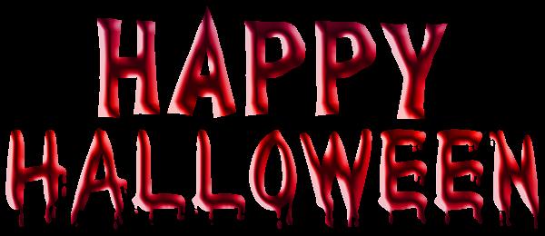 happy halloween字体
