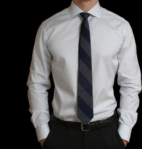 男士衬衫证件照服装模板