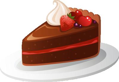 手绘草莓水果蛋糕