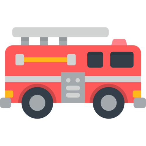 消防车插画