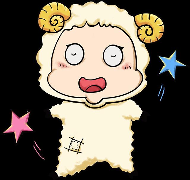 白羊座可爱头像