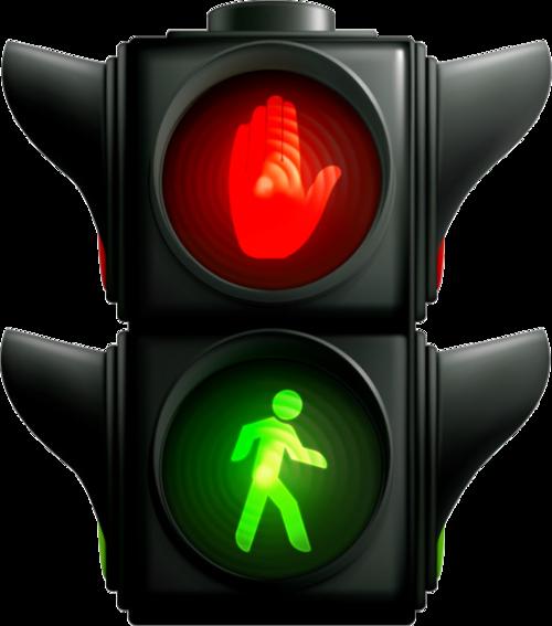交通人行道红绿灯
