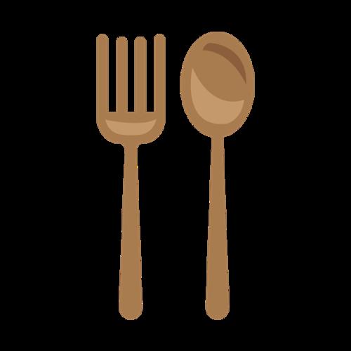 餐具叉勺图片