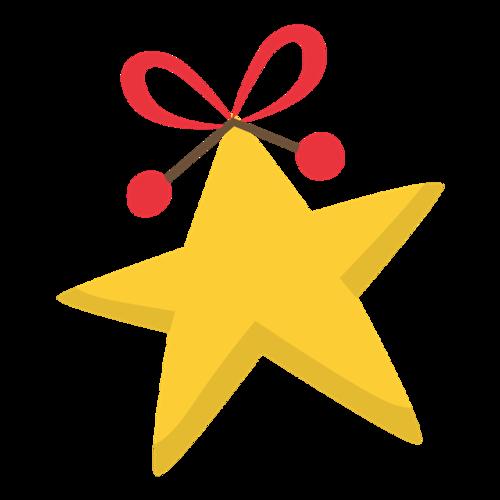 圣诞节装饰星星图案