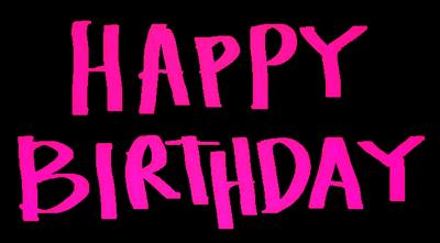 生日快乐涂鸦字体