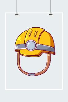 黄色消防安全帽