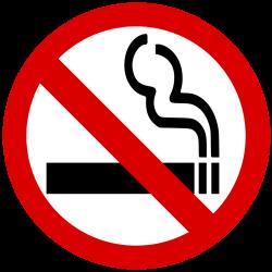 禁止吸烟标志图案