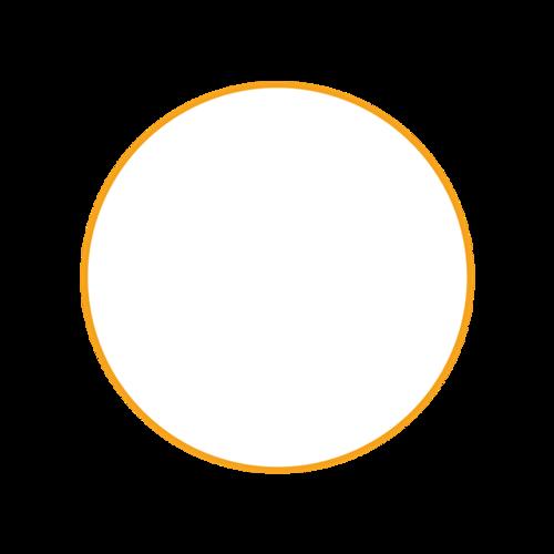 简单圆形边框