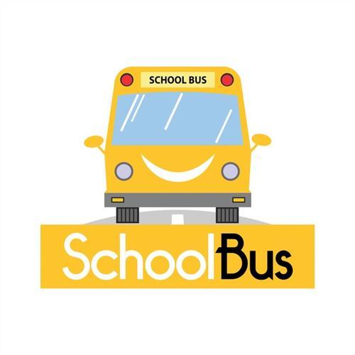 学校巴士矢量图