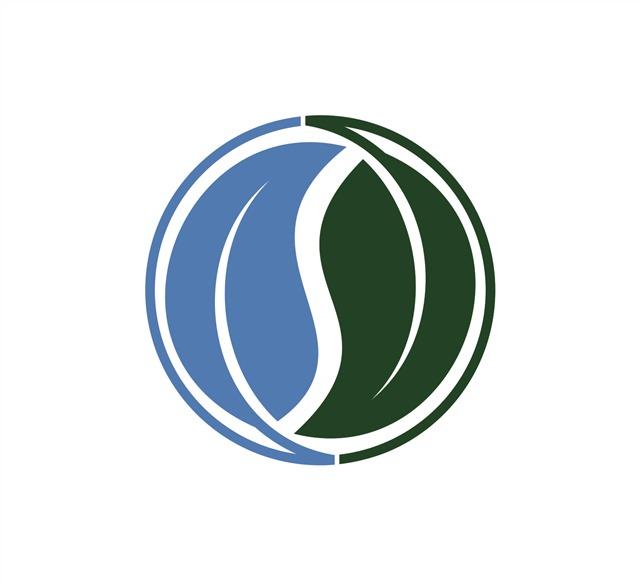 蓝绿环保图标