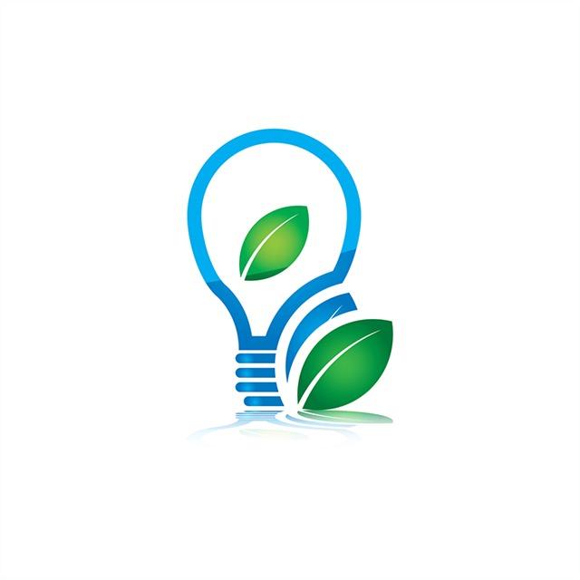 绿色环保图标素材