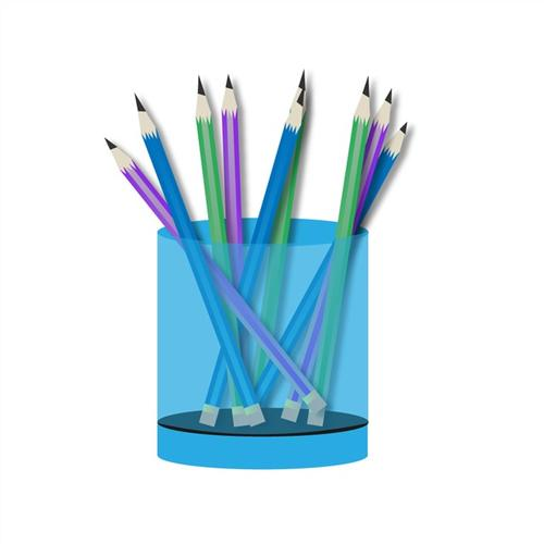 卡通文具笔筒