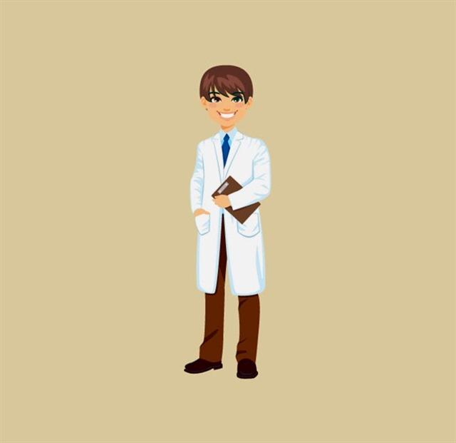 卡通医生人物