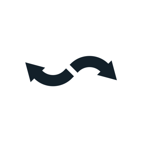 曲线箭头符号