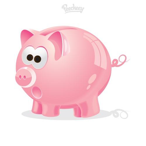 粉色小猪图片