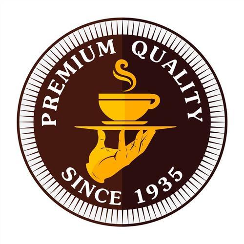 圆形咖啡logo图标