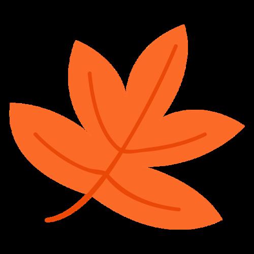创意红色枫叶