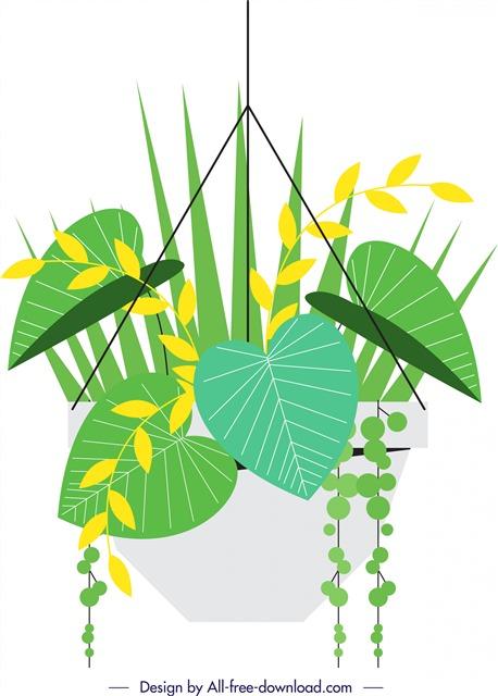 绿植盆栽图片