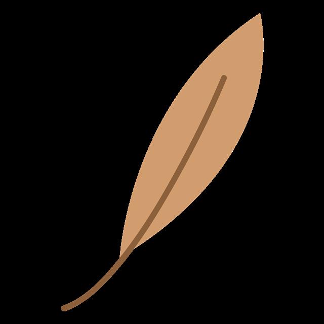 秋季树叶简笔画