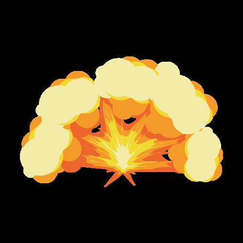爆炸效果元素