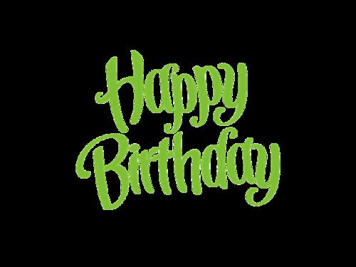 生日快乐特殊字体