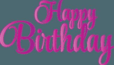生日快乐创意字体