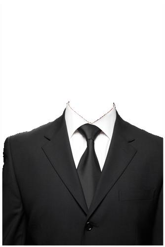 男士西装半身证件照合成