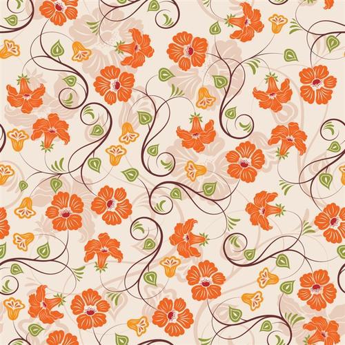 花卉图案装饰背景
