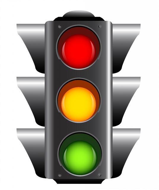路口红绿灯信号灯图片
