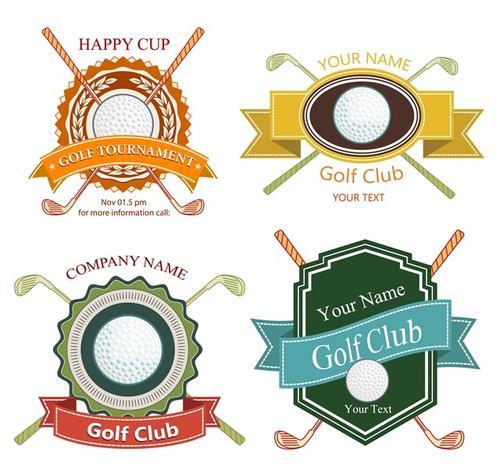 高尔夫球标志