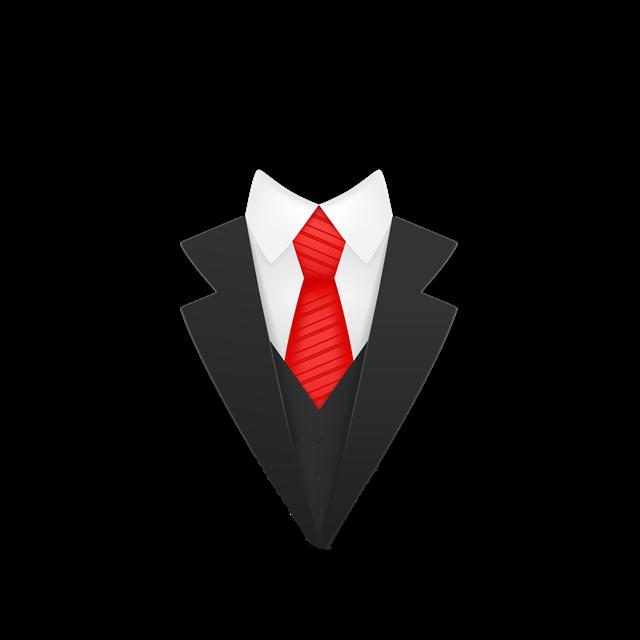 男士西装领子