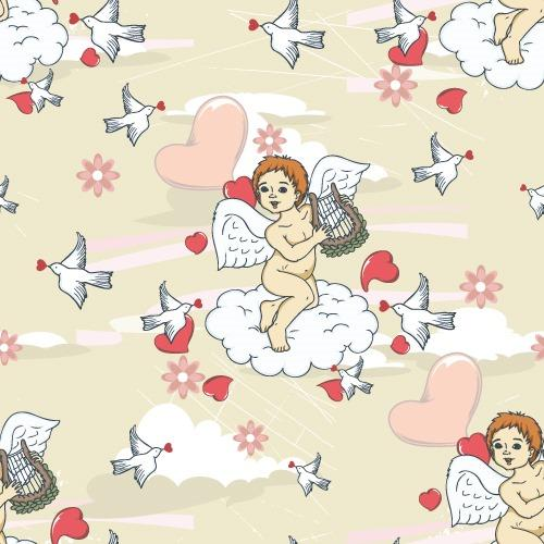 丘比特天使背景图