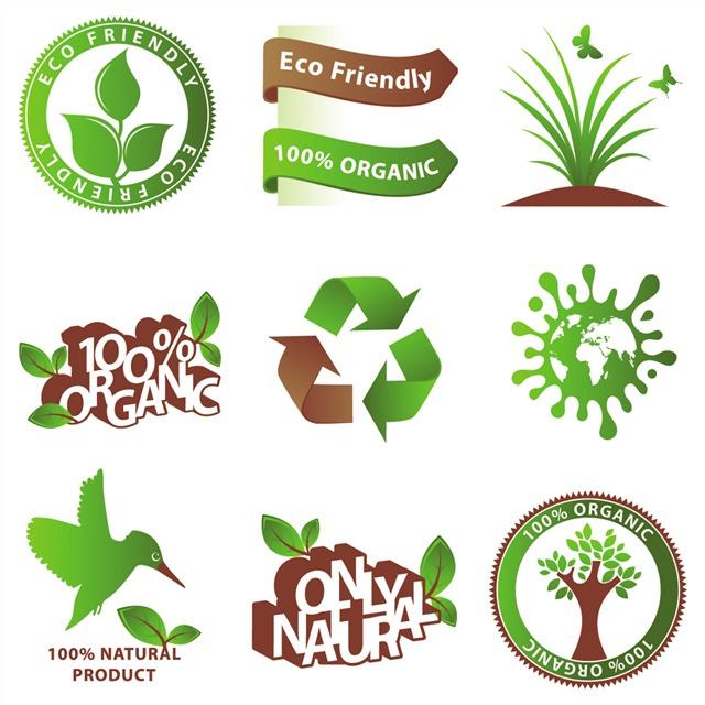 绿色环保logo标志