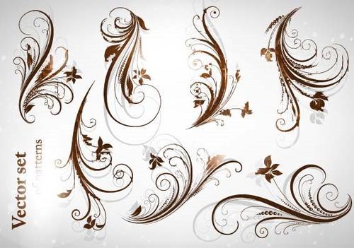 花卉装饰边框图案
