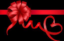 感恩节红丝带