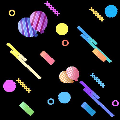 电商漂浮球体图片