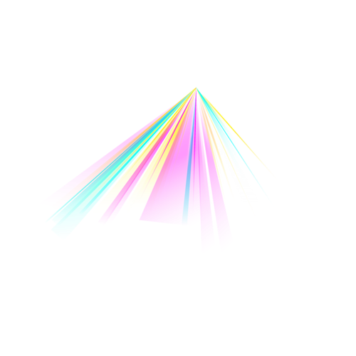 彩虹银幕免抠图片