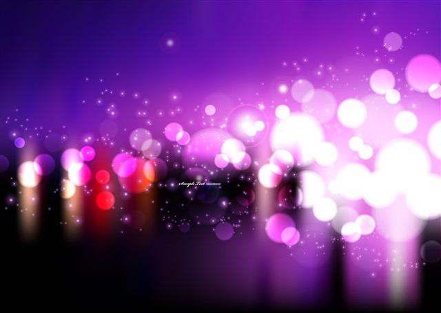 炫彩光斑光效背景