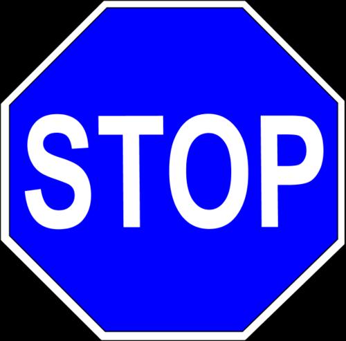 交通停车标志字母图片