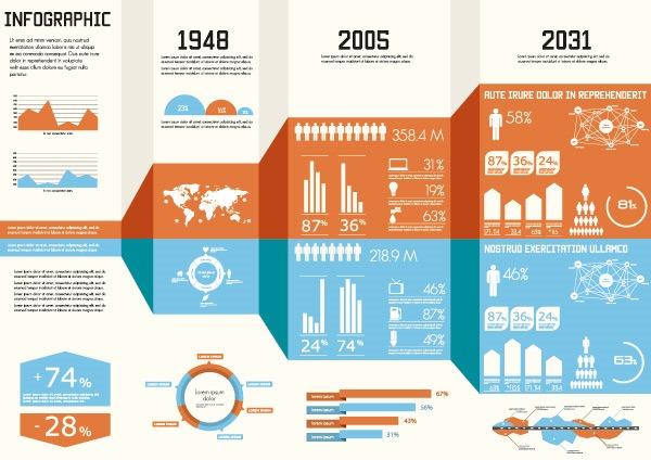 数据统计网页模板
