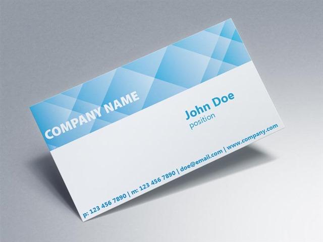 公司名片格式模板