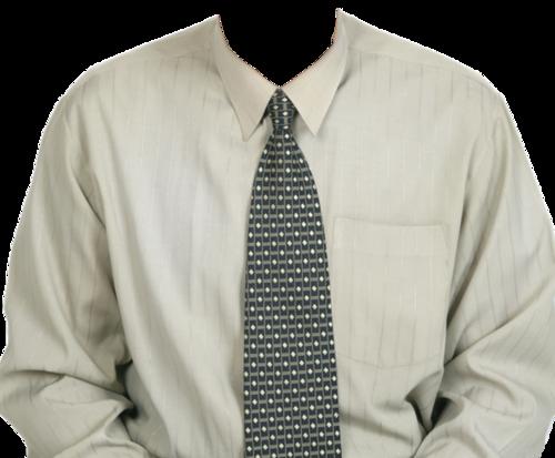 白衬衫照片模板
