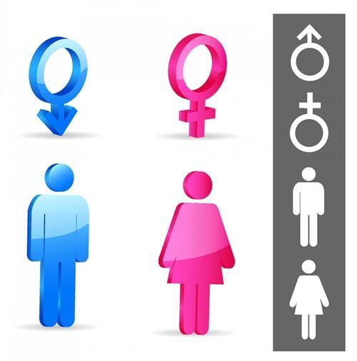 男女性别符号标志
