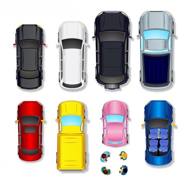 汽车平面图