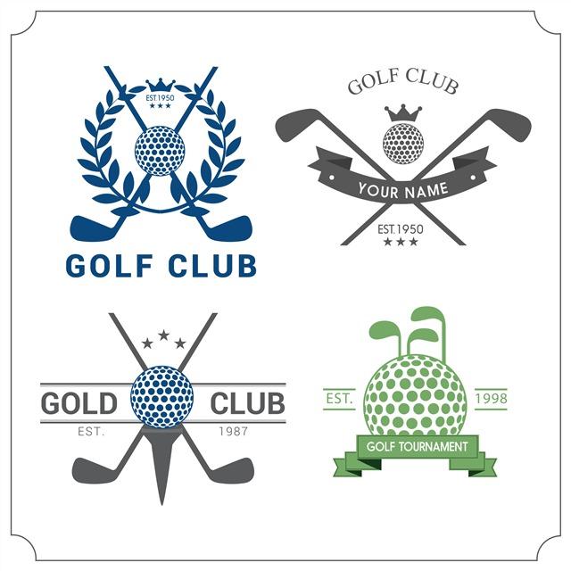 高尔夫球俱乐部logo