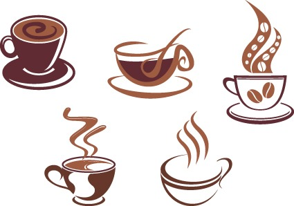 咖啡图标设计
